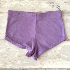 Girls 2T Vintage Purple Shorts Andover Togs